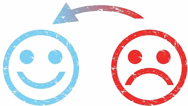 10 signs you need a new website design showing smiley faces