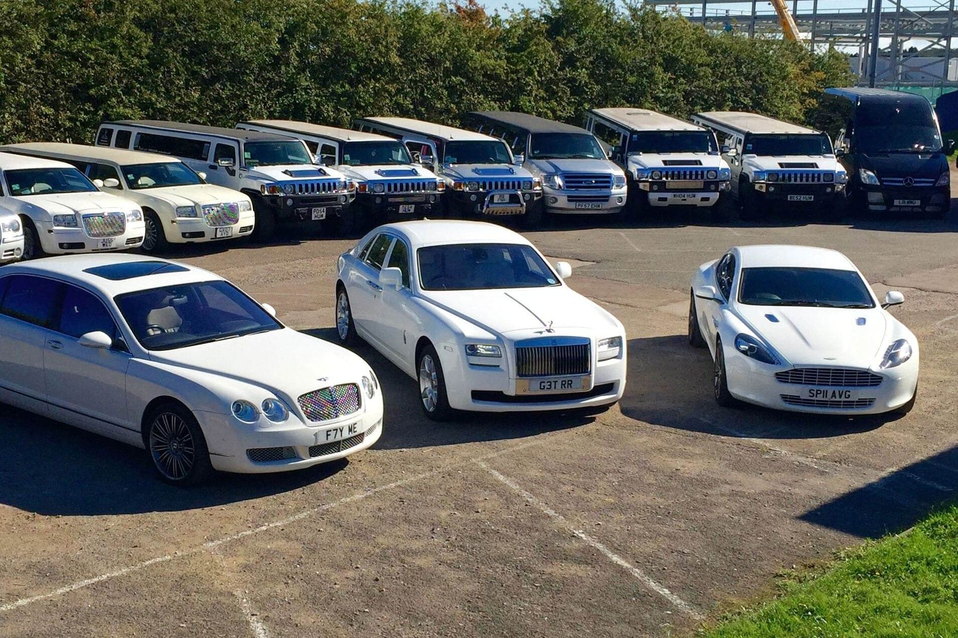 Limousines in London website design by 1LG hero image