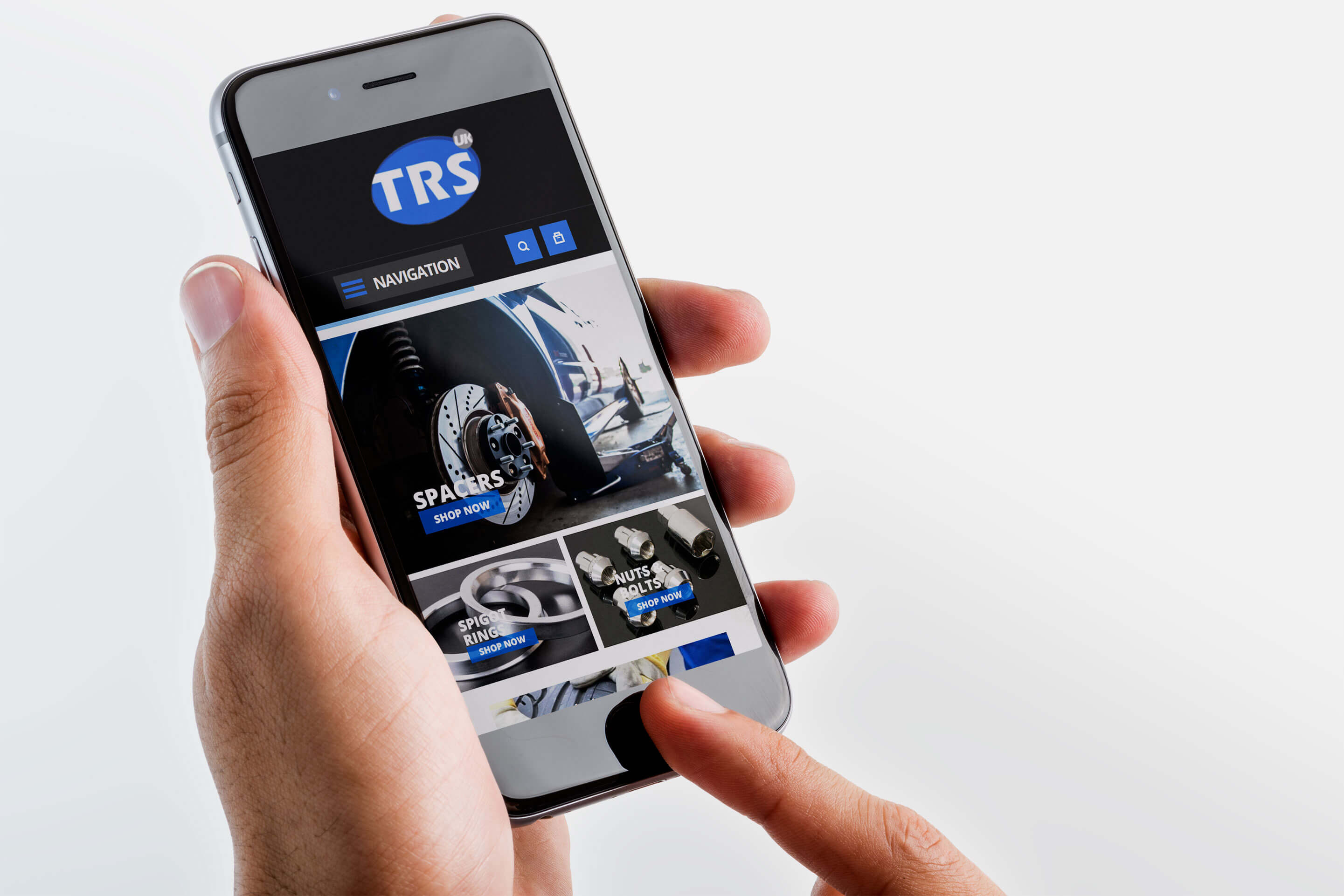 trs wheel solutions web design iphone 6